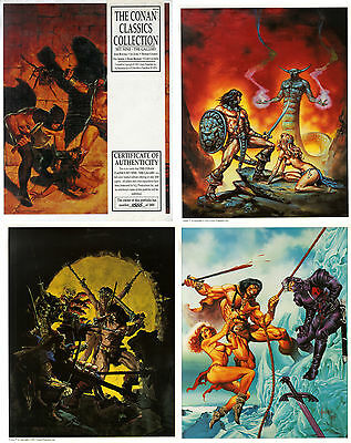 Buscema+Jusko+Chaykin+Adkins+Brunner+Caldwell The Conan Classic Collection Set 9