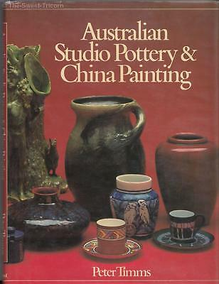 Australian Studio Pottery & China Painting — Peter Timms