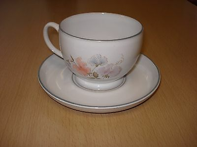 Denby Encore Sweet Pea Large Tea Cup And Saucer
