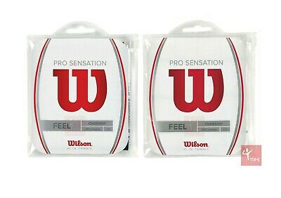 Wilson Pro Sensation Overgrip 12 Pack (Available in Black or White)