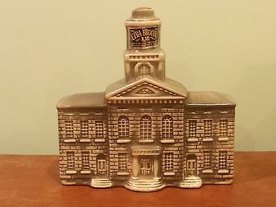 Vintage Advertising Whiskey Decanter EZRA BROOKS New Hampshire State House 1969