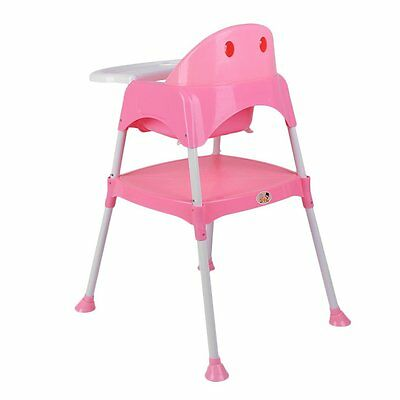 3 in 1 Baby High Chair Convertible Table Seat Booster Infant Toddler Feeding EK