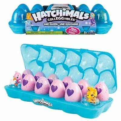 Hatchimals CollEGGtibles, 12-Pack Egg Carton GIFT -  ** JEWELRY BOX EDITION **