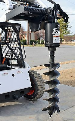 """Bobcat Skid Steer Attachment Lowe BP210 Hex Auger Drive with 15"""" Bit - Ship $199"""