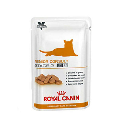 Royal Canin Vet Care Nutrition Cat Senior Consult Stage 2 - 12 x 100 gr