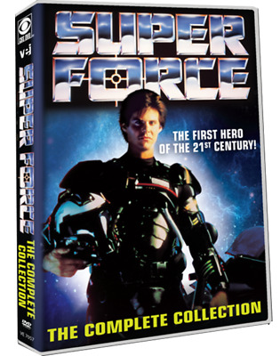 Super Force: Complete 1990s Sci-Fi TV Series Seasons 1 & 2 Box / DVD Set NEW!