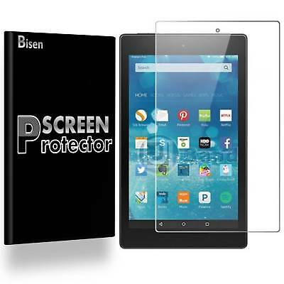 3-PACK BISEN Amazon Fire HD 10 (7th Gen, 2017) Clear Screen Protector Guard Film