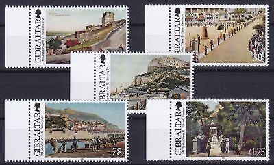 Gibraltar Mi-Nr. 1499 - 1503 **, Alte Ansichten / Old Views II