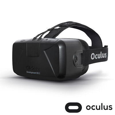 Oculus Rift DK2 Development Kit 2 VR Headset HDMI Brand New Sealed