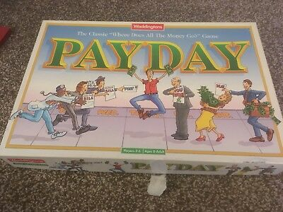 PAYDAY Board Game by Waddingtons - Vintage 1994