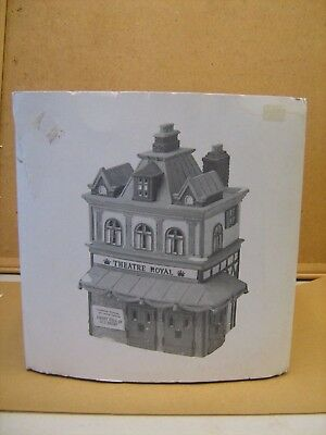 Dept 56 Dickens Heritage Village #55840 Theatre Royal Retired