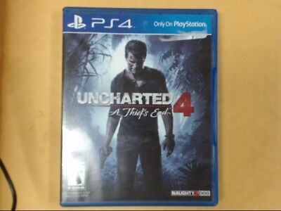 SONY Sony PlayStation 4 Game UNCHARTED 4 - A THIEF'S END - PS4 (PSO006397)