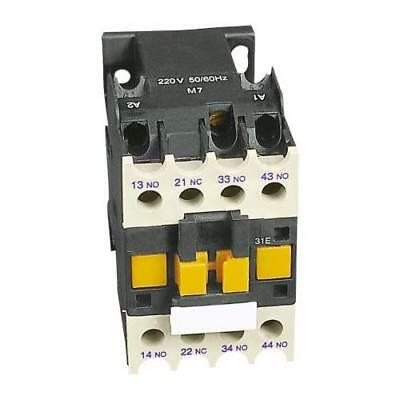 1 x RS Pro 4 Pole Contactor, Contact Current Rating 10A, Coil Voltage 230V ac