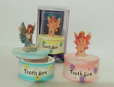 Tooth Fairy Box - Tiny Firy Friends by Lisa Parker - choice of colours