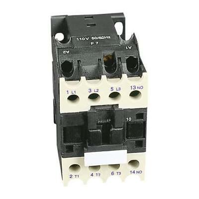 1 x RS Pro 3 Pole Contactor, Contact Rating 9A, 4kW, Coil Voltage 110V ac