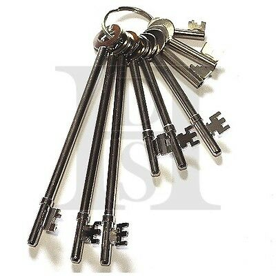 Fb Key Set-Fire Brigage-Set Of 9 Fb Keys - Fully Tested - Made In The Uk