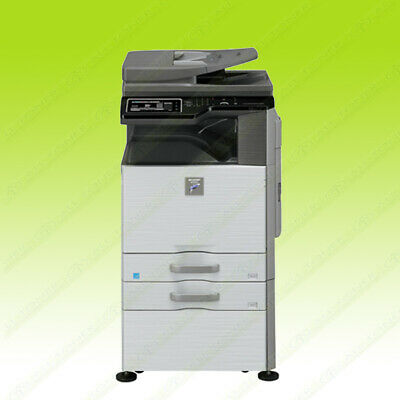 Sharp MX M564N 56PPM Monochrome Tabloid-size Printer Copier Scanner Network USB