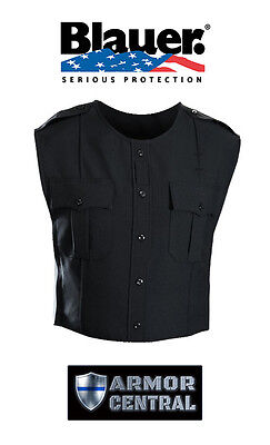 New Blauer BLACK Polyester ArmorSkin Vest Outer Carrier Uniform Cover 8370