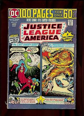 DC Justice League of America, Bronze Age, Vol.1, #115_G/VG_(3.0) 100 Pg. Issue