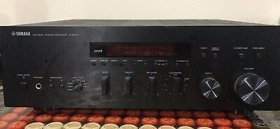 Yamaha natural sound stereo receiver r s202bl for Yamaha r s700 receiver