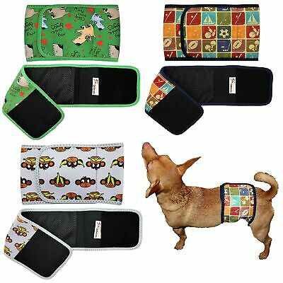 Dog BELLY BAND Male Diaper Wrap Reusable Washable NEOPRENE Small Large XXS- XXXL