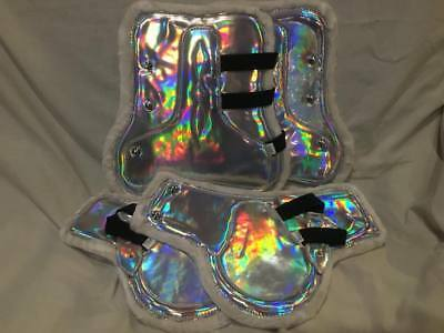 Rainbow Vinyl or Holographic Jump Boot Set