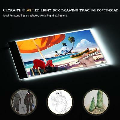 A4 LED Art Stencil Board Light Box Tracing Drawing Board Pad Diamond Painting 5V