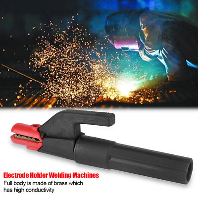 Mini Italy Type 300A Electrode Holder Welding Machine Accessory Stick Clamp Tool