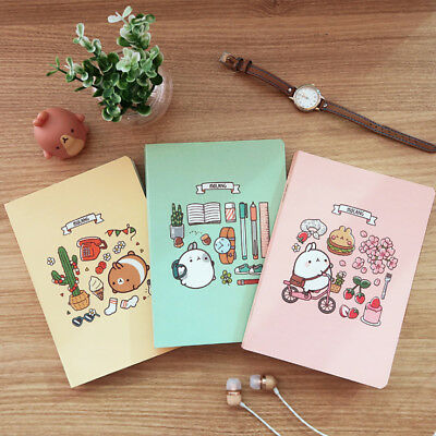 Molang Diary ver 5(2018year) Undated planner journal  Yearly Weekly Scheduler