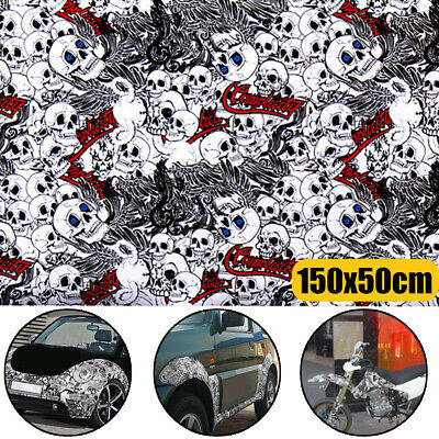 "60"" x 20""  Light Pattern Cartoon Graffiti Car Sticker Bomb Wrap Sheet Film Decal"