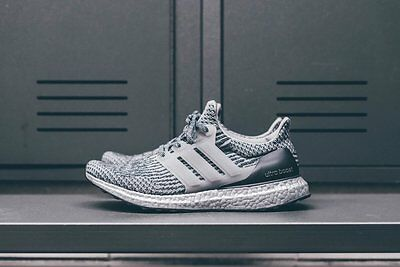 ADIDAS ULTRA BOOST 3.0 Super Bowl Silver Pack Sz 9.5 BA8143