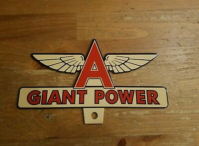 License Plate Topper FLYING A GASOLINE Giant Power Sign Tydol gas oil