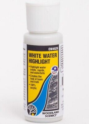 NEW Woodland Water Highlight White CW4529