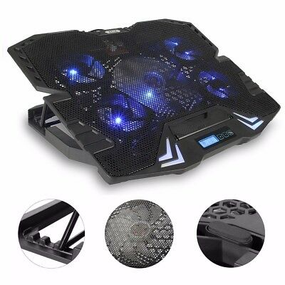 """Laptop Cooler, MECO 12-15.6"""" Laptop Cooling Pad Cooling fan Cooler Master with"""