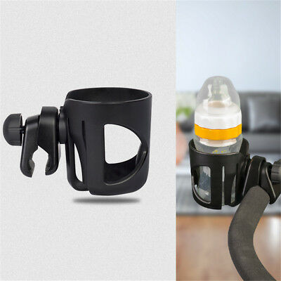 Baby Stroller Pram Cup Holder Universal Bottle Drink Water Coffee Bike Bag KU