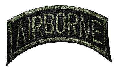 #02 Airborne Division US Military Embroidered Iron on Patch Free Shipping