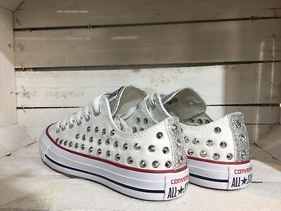 all star converse bianche basse donna 38