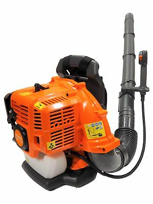 43cc Petrol Back Pack Leaf Blower High Power Professional 2 Stroke Garden Blower