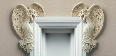 Vintage Angel Wings Door Frame Christmas Decoration Shabby Chic Style Ornament
