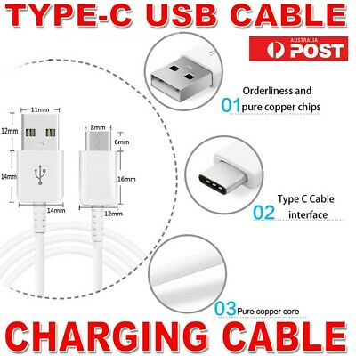 Type-C Strong Fast Data Sync Charger Cable For Samsung Galaxy S8 S8+ Plus Note 8