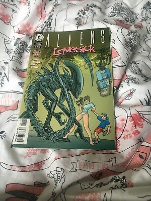 Aliens Comic love sick One Shot