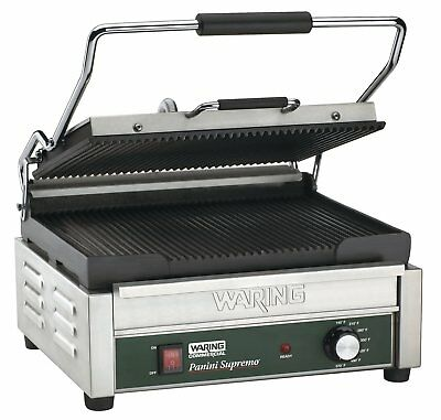 Waring Commercial WPG250 120-volt Italian-Style Panini Grill, Large