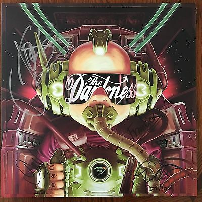 The Darkness Last Of Our Kind Vinyl Record LP Signed #272/500 Green Colored Rare