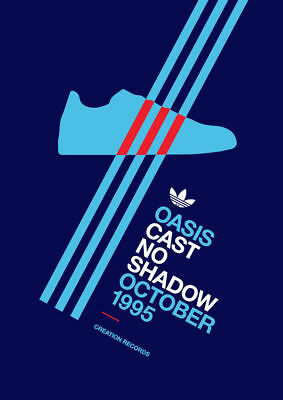 ALBUM Adidas Casuals Trainers 'Cast No Shadow' POSTER A4 A3 BUY 2 GET 3RD FREE