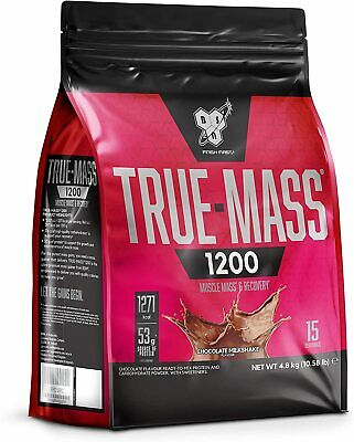BSN True Mass 1200 Weight Gainer 4.8kg Anabolic Muscle Mass Protein Powder