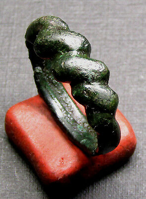 Ancient Viking Bronze Ring. (17).
