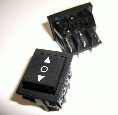 2 X DPDT 20 amp  momentary rocker switch ~ 6 PIN  Switch US SELLER & SHIPPER