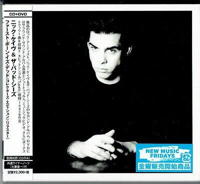NICK CAVE The Firstborn Is Dead * SEALED DELUXE CD+DVD JAPAN HSE-3627