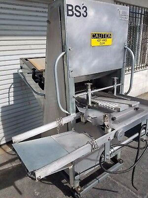 UBE Model 10 Band Bread Slicer – High Volume Slicing