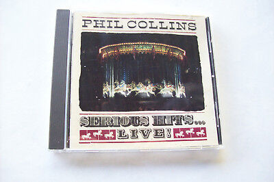 Phil Collins  Serious Hits  Live     / Cd